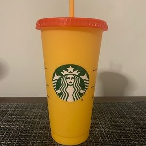 Starbucks summer 2020 color changing cup